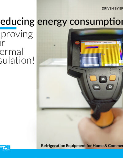 IMPROVING ENERGY CONSUMPTION AND REDUCING THERMAL LOSSES IN REFRIGERATION EQUIPMENTS